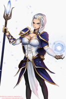WoW - Jaina [Commission] by eollynart