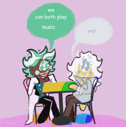 what if mint choco and rockstar cookie gay relatio by pastarrie