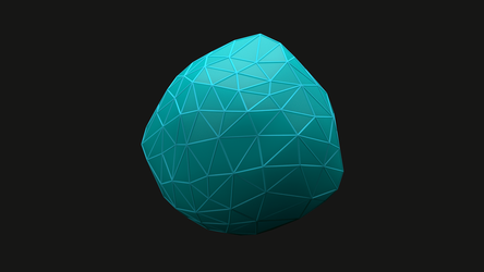 Sub Surface Scattering - Low polygon sphere by tokfrans