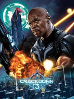CRACKDOWN 3 POSTER SDCC by RUIZBURGOS