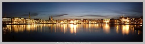 Alster Panorama by IndianRain