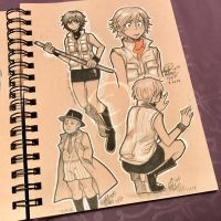 Lilly-Lamb Sketchbook 2018 Part 4 by Lilly-Lamb