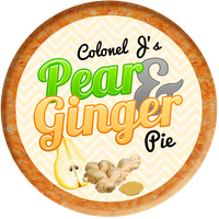 Pear and Ginger Pie by Echilon