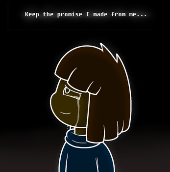 [SPOILER]Glitchtale-The Promise by Nikytale