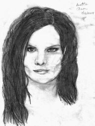 Anette Olzon by DruidElf