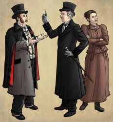 Jago and Litefoot and Higson by PaulHanley