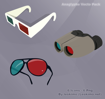 Anaglyphe Vecto pack by leskimo