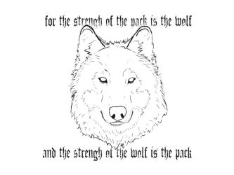 The strengh of the pack by FelipeS4rg