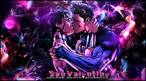 Wonder Woman X Superman by gabber1991md