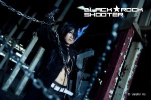 Black Rock Shooter Cosplay II by ValeforHo