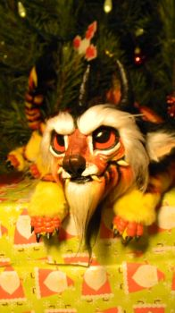 Posable Tiger Dragon by SPoppet