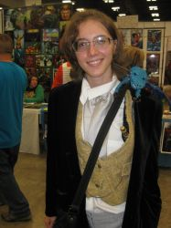 Eighth Doctor and Fantasy - Austin ComicCon 2014 by le-letha