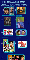 Top 10 Amazing Main Character's Offspring by ufd