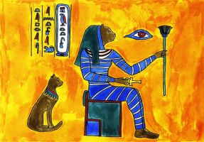 Bastet by eugeal