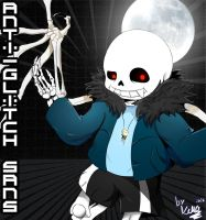 Anti glitch Sans by Kirby-Popstar