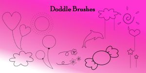 Doddle Brushes by SuicideOmen
