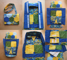 Travel Sewing Bag by Magical525