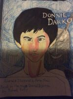 Donnie Darko Manga Cover by doctorwhooves253