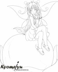 Dr Closure commision fairy (Lineart) by Kyomeiyu