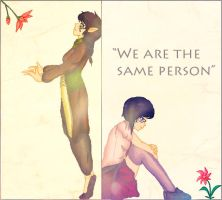 We are the same person by Lemonthrower