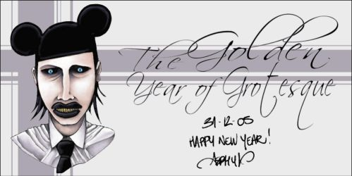 The Golden Year Of Grotesque by asphyx0r