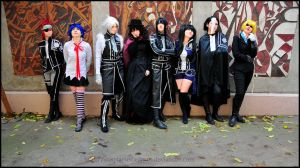 D.Gray Man Group by CosplaySocietyPro