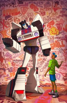 autobot jazz and the fresh prince by m7781