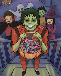 Trick or treat? by Charenel