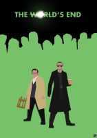 Blood and Ice Cream: The World's End by HerrOwley
