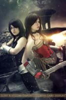 Wonder Woman and Donna Troy - DC Comics by FioreSofen