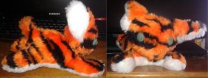 Tiger Plushie by professoroak
