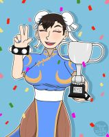 Champion Chun Li by OUC