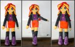 Sunset Shimmer plush doll
