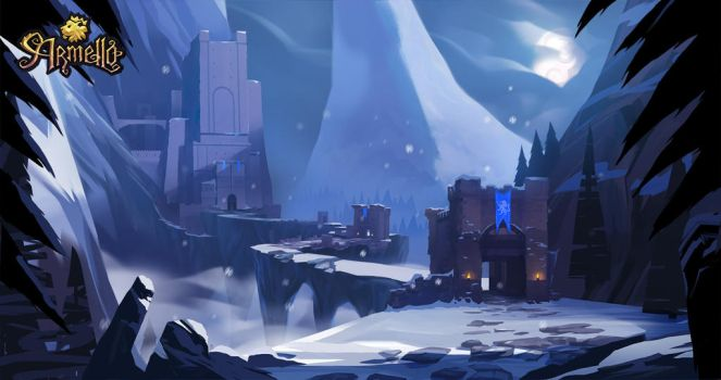 Armello Wolf Castle by SimonBoxer