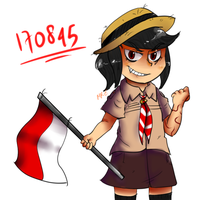INDONESIA'S INDEPENDENCE DAY: 71st by Mr-Evilness