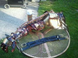Steampunk Arm The 2nd by Skinz-N-Hydez