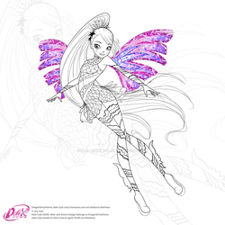 Winx: Altair Sirenix by DragonShinyFlame