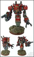 Grot Warboss Mecha - The Warbot! by Proiteus