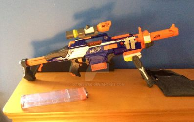 Ultimate rapid-strike sniper rifle by Darkswag
