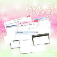 Resources Pack. #89 by DenizBas