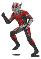 Ant-Man by WaitoChan