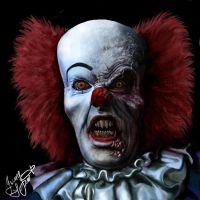 Devil clown Pennywise by Shaytan666