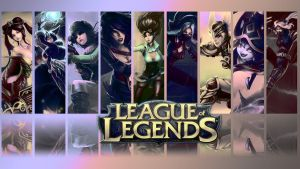 League of Legends Wallpaper by amyamiki