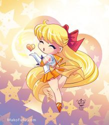 .:Chibi Super Sailor Venus:. by Mako-Fufu