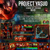 PROJECT: Yasuo HUD - League of Legends by AliceeMad