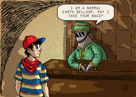 Normal Earth Bellhop by Erikku8