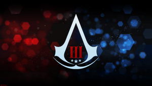 Assassin's Creed III Assassin logo Animus style by ArteF4ct