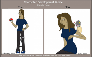 Character Development Meme by Nefepants