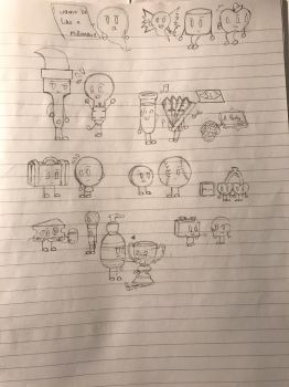 Inanimate Insanity crew (Unfinished) by JRIlovesmanythings