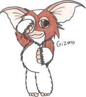 Gizmo from Gremlins by sonicshadowlover13